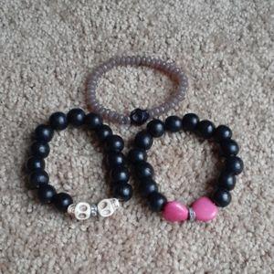 3 pieces Bracelets